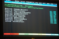 Teksti TV 2014 Kuopio
